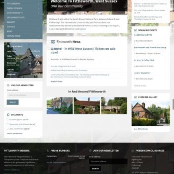 new fittleworth parish council website
