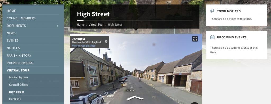 the best parish council website uk