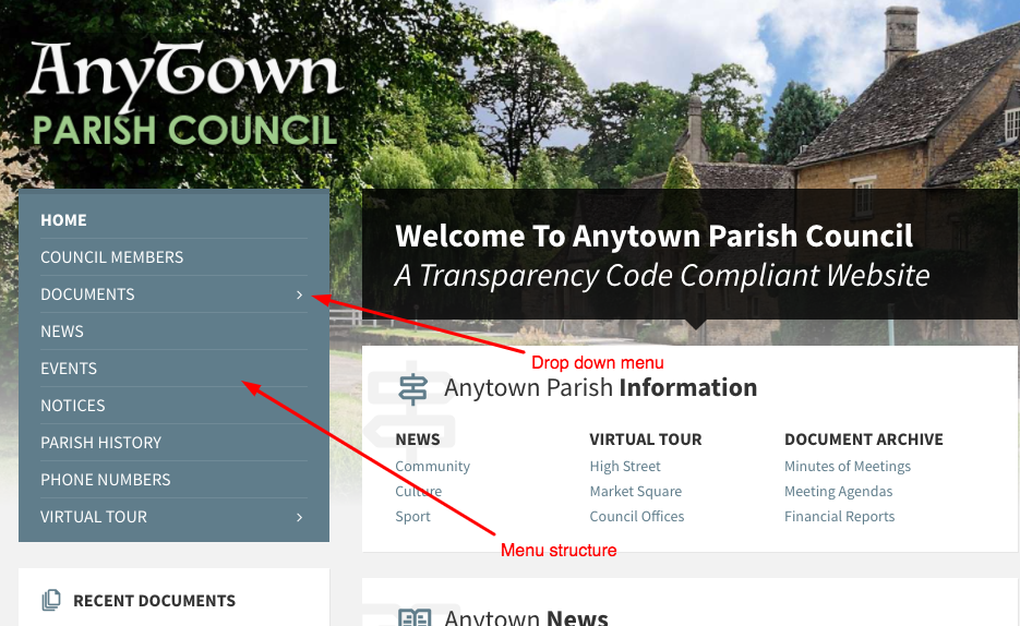 parish council best websites