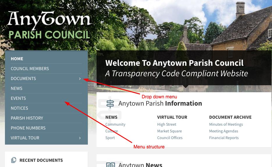 parish council best websites