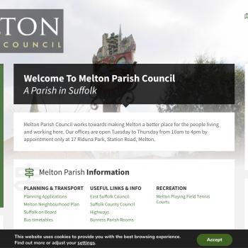 Melton Parish Council Website