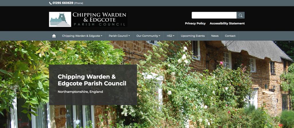 Chipping Warden & Edgcote Parish Council Northamptonshire