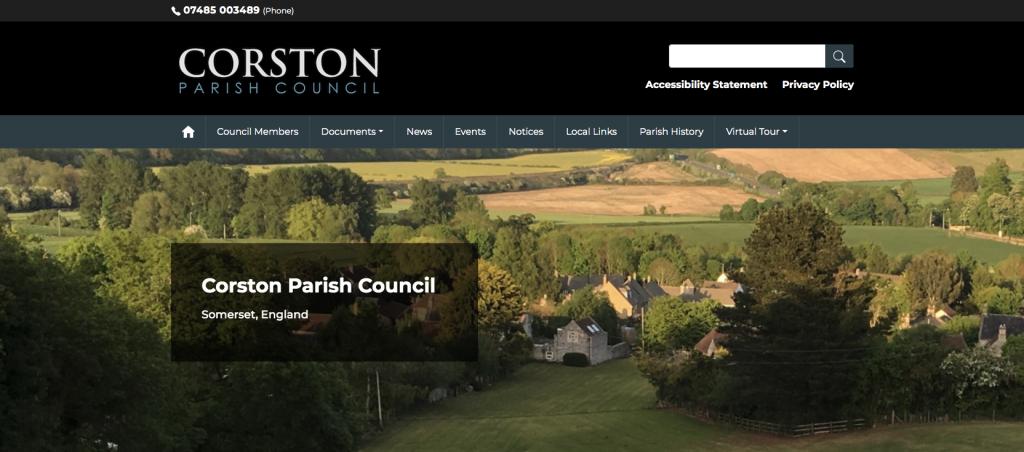 Corston Parish Council Somerset