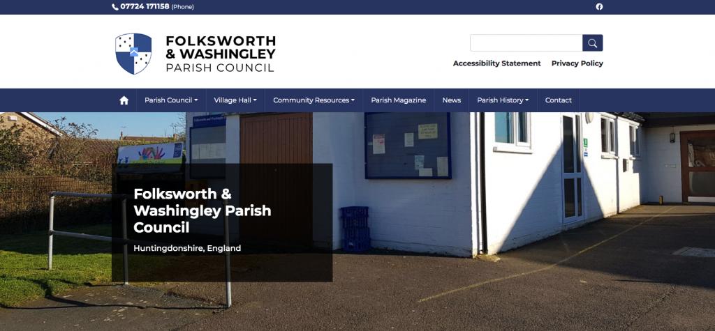 Folksworth & Washingley Parish Council Huntingdonshire