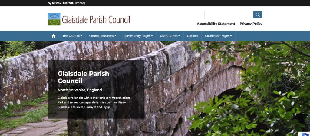 Glaisdale Parish Council North Yorkshire,