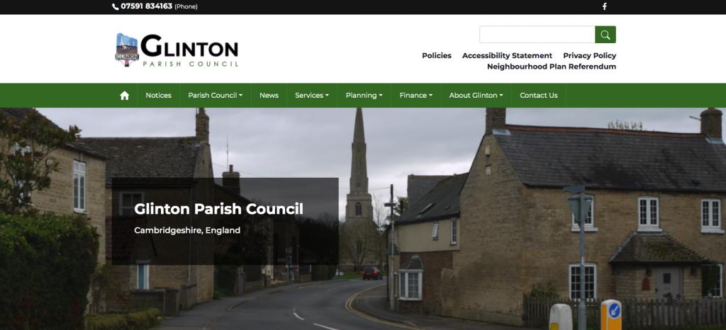Glinton Parish Council Cambridgeshire