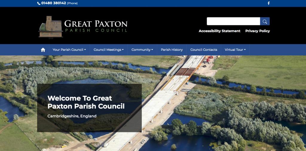 Great Paxton Parish Council Cambridgeshire