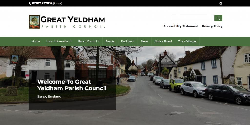 Great Yeldham Parish Council Essex,