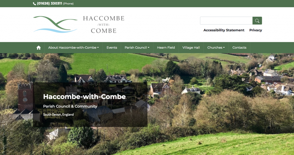 Haccombe-with-Combe Parish Council & Community South Devon