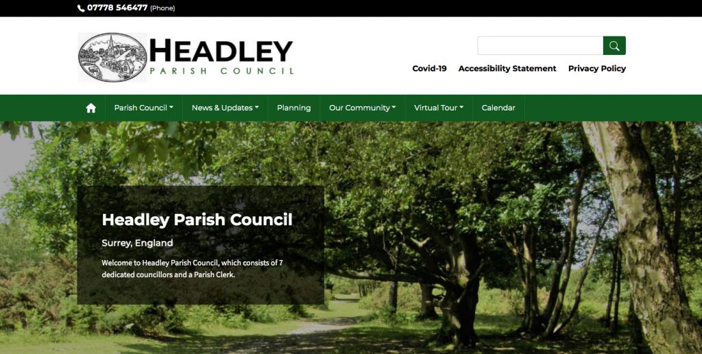 Headley Parish Council Surrey