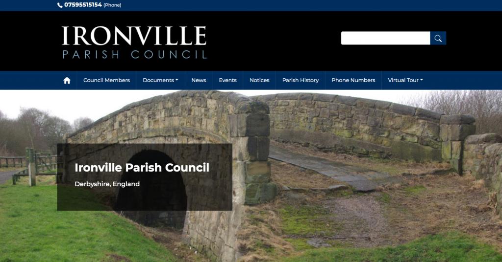 Ironville Parish Council Derbyshire
