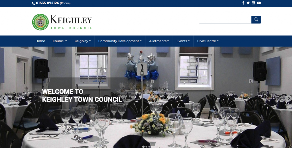 Keighley Town Council - West Yorkshire