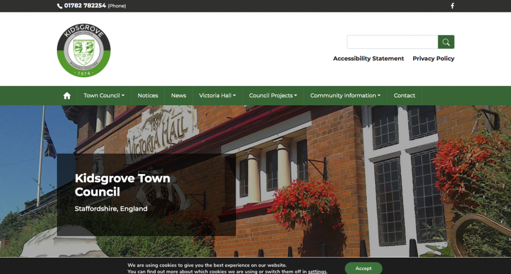 Kidsgrove Town Council Staffordshire