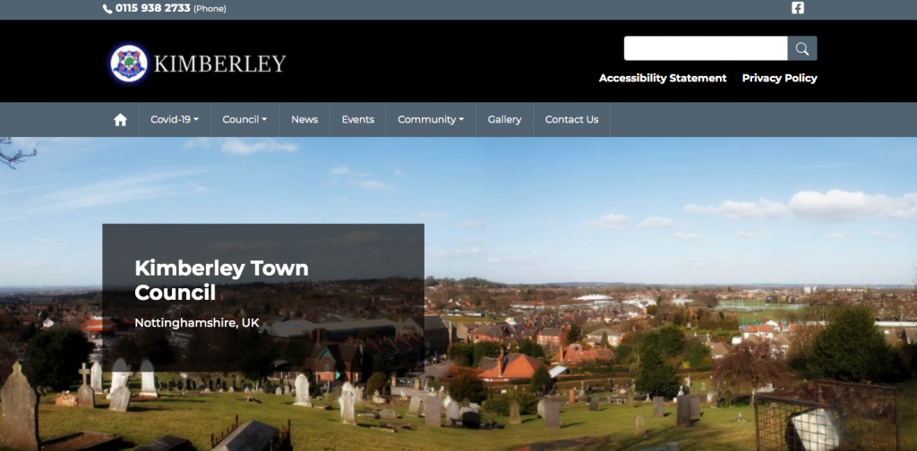 Kimberley Town Council Nottinghamshire