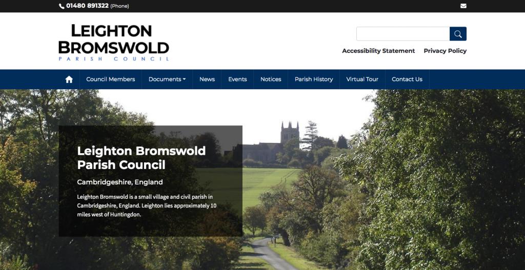 Leighton Bromswold Parish Council Cambridgeshire