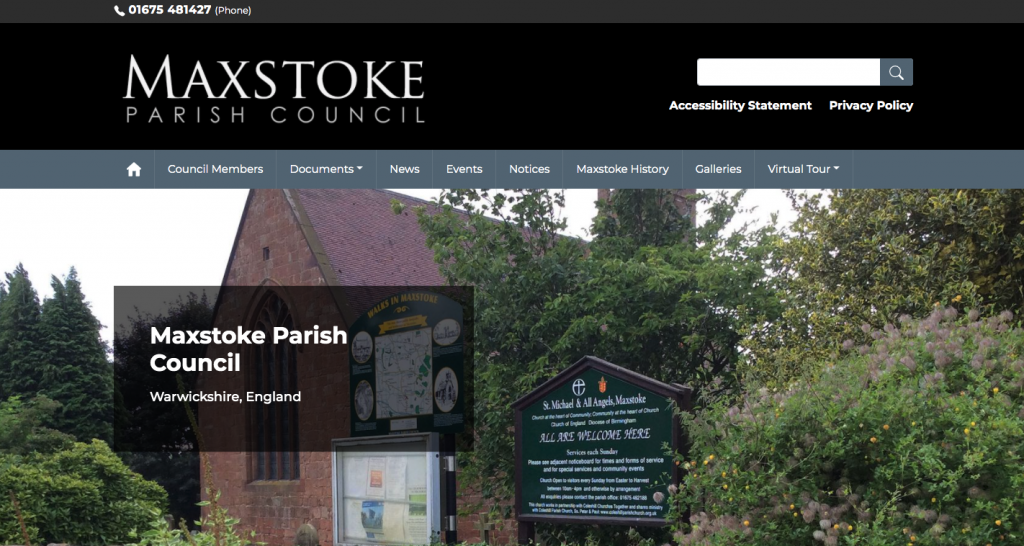 Maxstoke Parish Council Warwickshire
