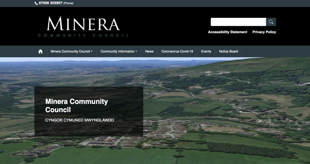 Minera Community Council CYNGOR CYMUNED MWYNGLAWDD