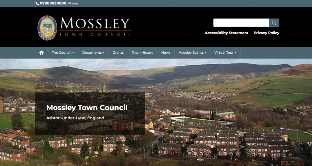 Mossley Town Council Ashton-under-Lyne