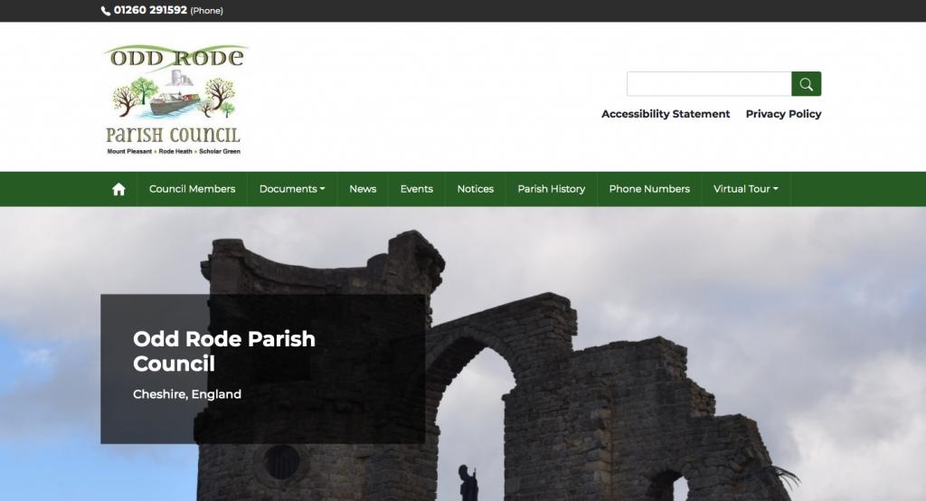 Odd Rode Parish Council Cheshire,