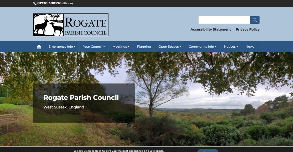 Rogate Parish Council West Sussex