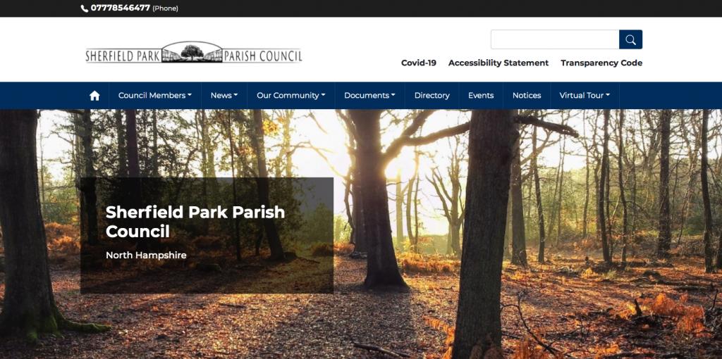 Sherfield Park Parish Council North Hampshire