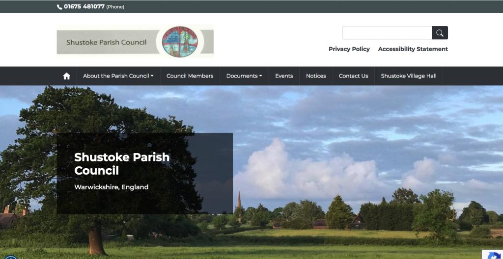 Shustoke Parish Council Warwickshire