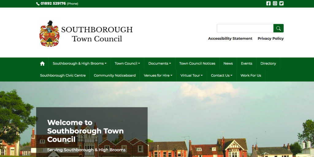 Southborough Town Council Serving Southborough & High Brooms