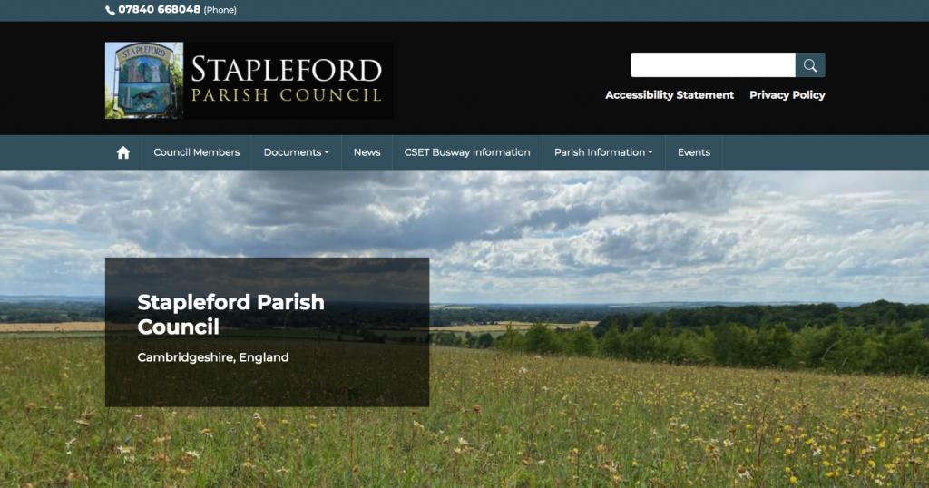 Stapleford Parish Council Cambridgeshire