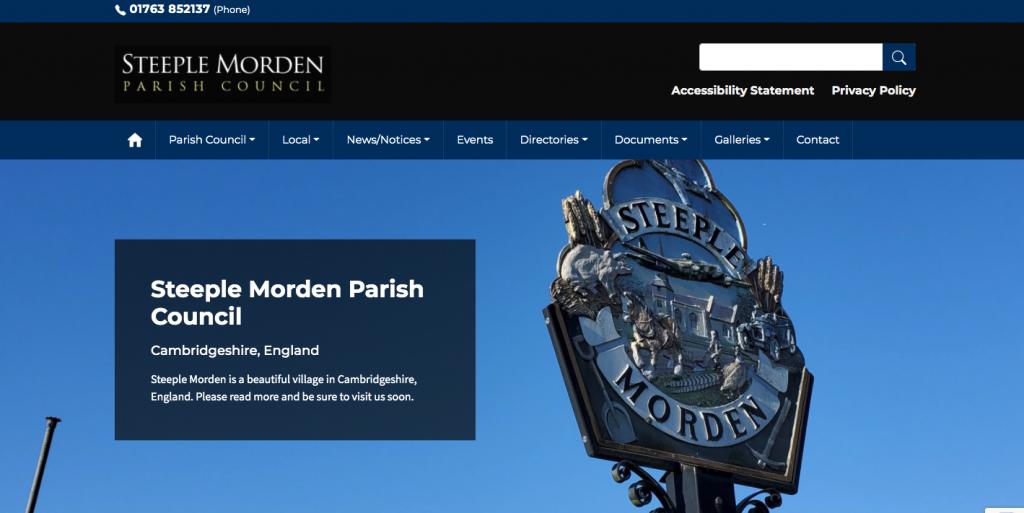 Steeple Morden Parish Council Cambridgeshire