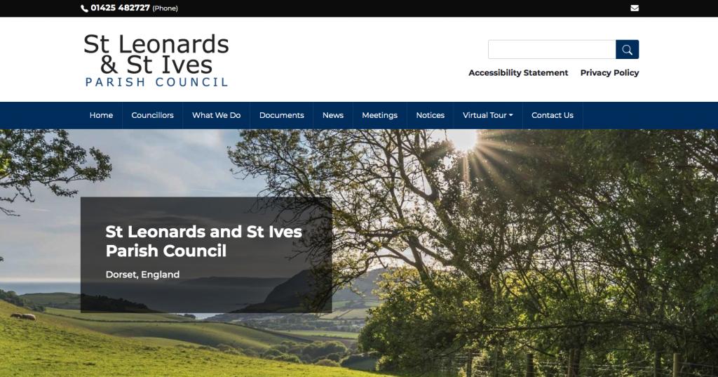St Leonards and St Ives Parish Council Dorset