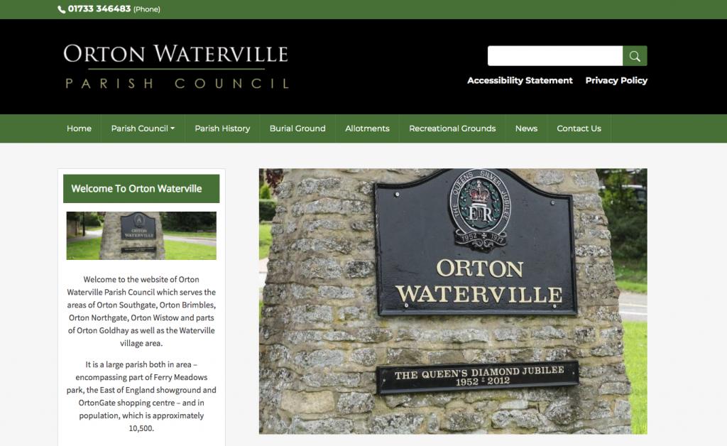 Orton Waterville Parish Council