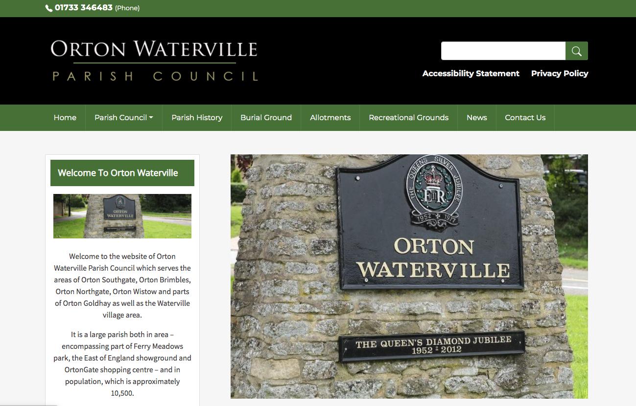 Prton Waterville Parish Council